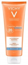 VICHY Capital Soleil Beach Protect hidratáló naptej SPF20 (300 ml)