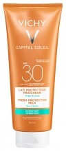 VICHY Capital Soleil Beach Protect hidratáló naptej SPF30 (300 ml)