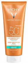 VICHY Capital Soleil Beach Protect hidratáló naptej SPF50+ (300 ml)